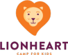 Lion Heart for kids - Vertical Logo